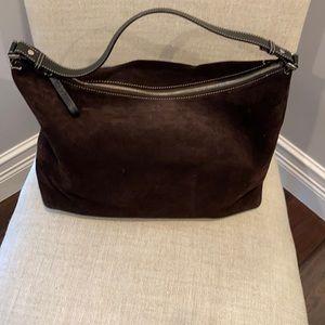 Vintage ( original) Kate spade suede brown bag